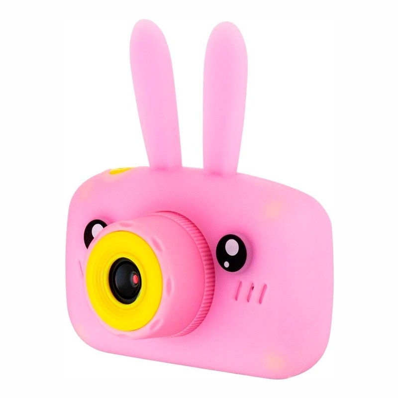 Детский цифровой фотоаппарат Fun Camera View Зайчик, Розовый