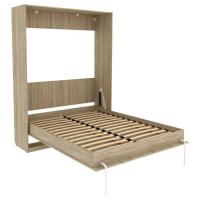 Кровать подъемная 1600 мм КД16 (дуб сонома)