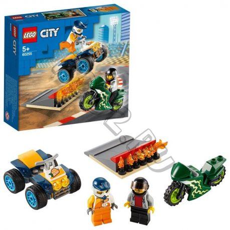 КОНСТР-Р LEGO CITY NITRO WHEELS КОМАНДА КАСКАДЁРОВ (595569)