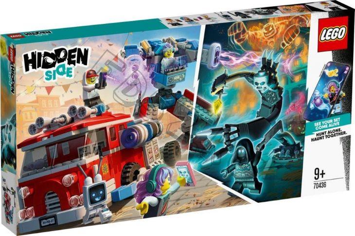 КОНСТР-Р LEGO HIDDEN SIDE ФАНТОМНАЯ ПОЖАРНАЯ МАШИНА 3000 (595384)
