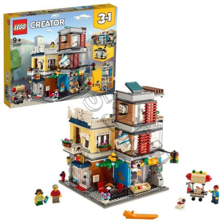 КОНСТР-Р LEGO CREATOR ЗООМАГАЗИН И КАФЕ В ЦЕНТРЕ ГОРОДА (595573)