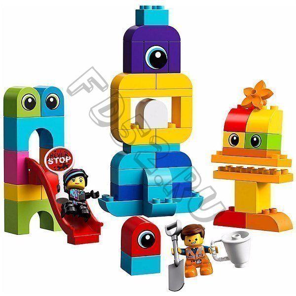 КОНСТР-Р LEGO 10895 ДУПЛО THE LEGO MOVIE 2: ПРИШЕЛЬЦЫ С ПЛАНЕТЫ DUPLO