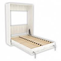 Кровать подъемная 140 мм (вертикальная) Арт. К01 в цвете арктика