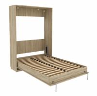 Кровать подъемная 140 мм (вертикальная) Арт. К01 в цвете дуб сонома