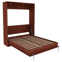 Кровать подъемная 160 мм (вертикальная) Арт. К04 в цвете итальянский орех