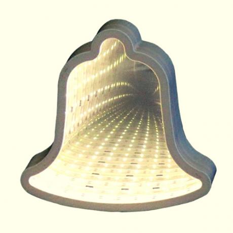 Зеркальный ночник с эффектом бесконечности