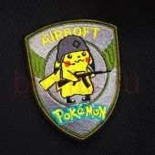 Шеврон Airsoft pokemon