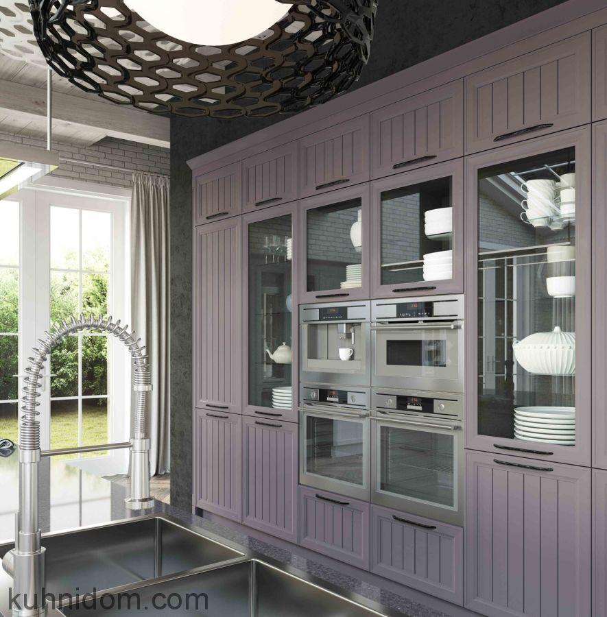 Кухня Giovane (Джоване) фрезерованная филенка с колонками