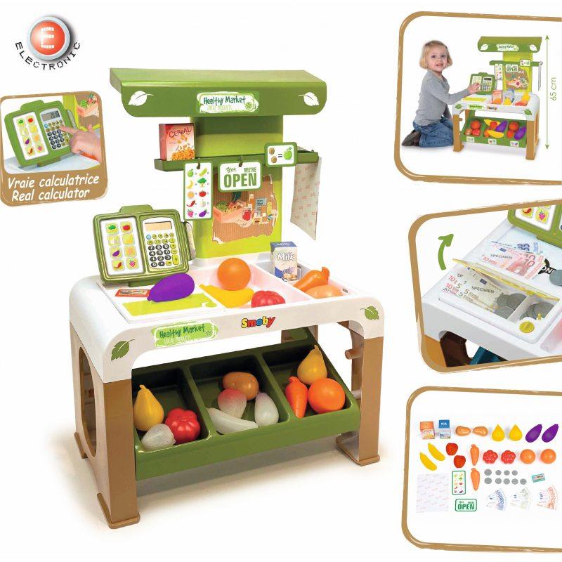 Игровой набор супермаркет BIO Market Store Smoby 350200