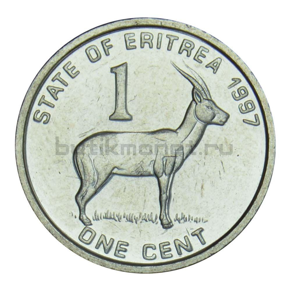 1 цент 1997 Эритрея