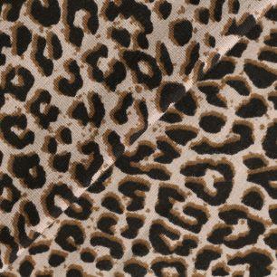 Лоскут трикотажной ткани - Леопардовый принт 50х30