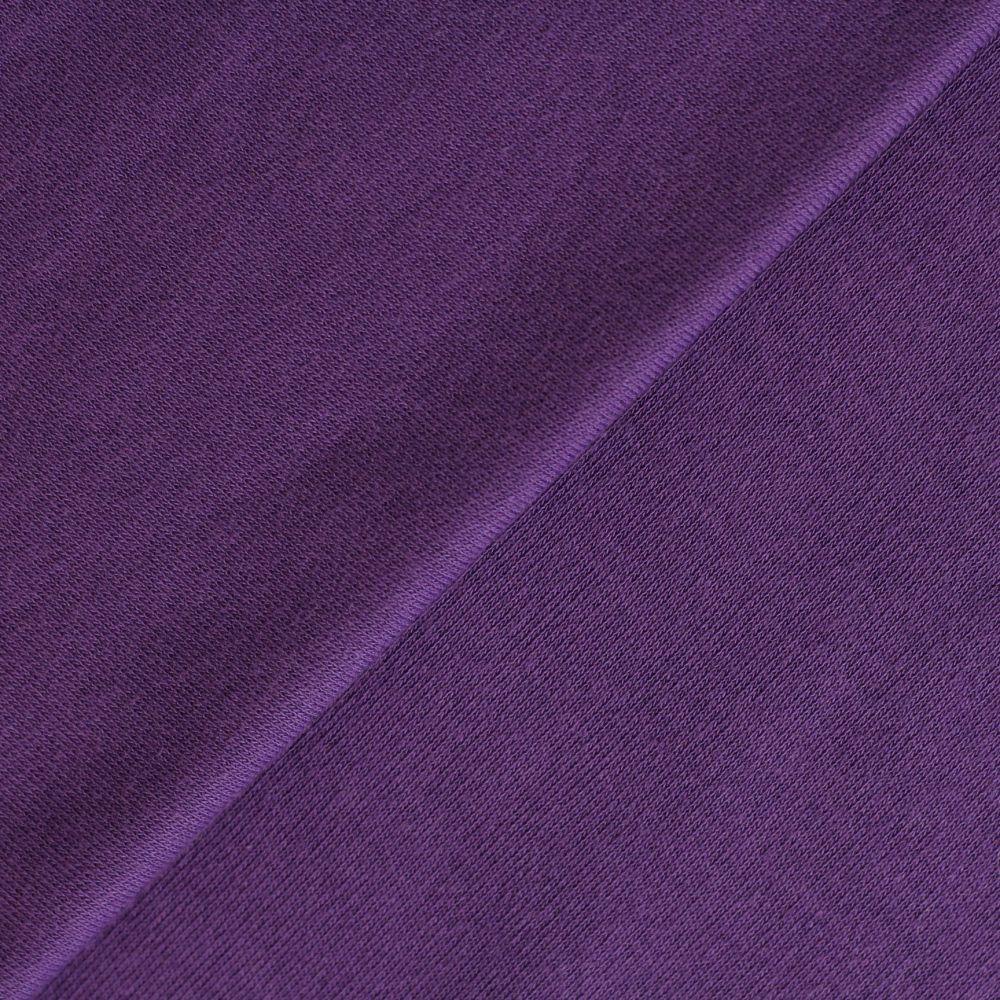 Лоскут трикотажной ткани - Насыщенный сиреневый 50х30