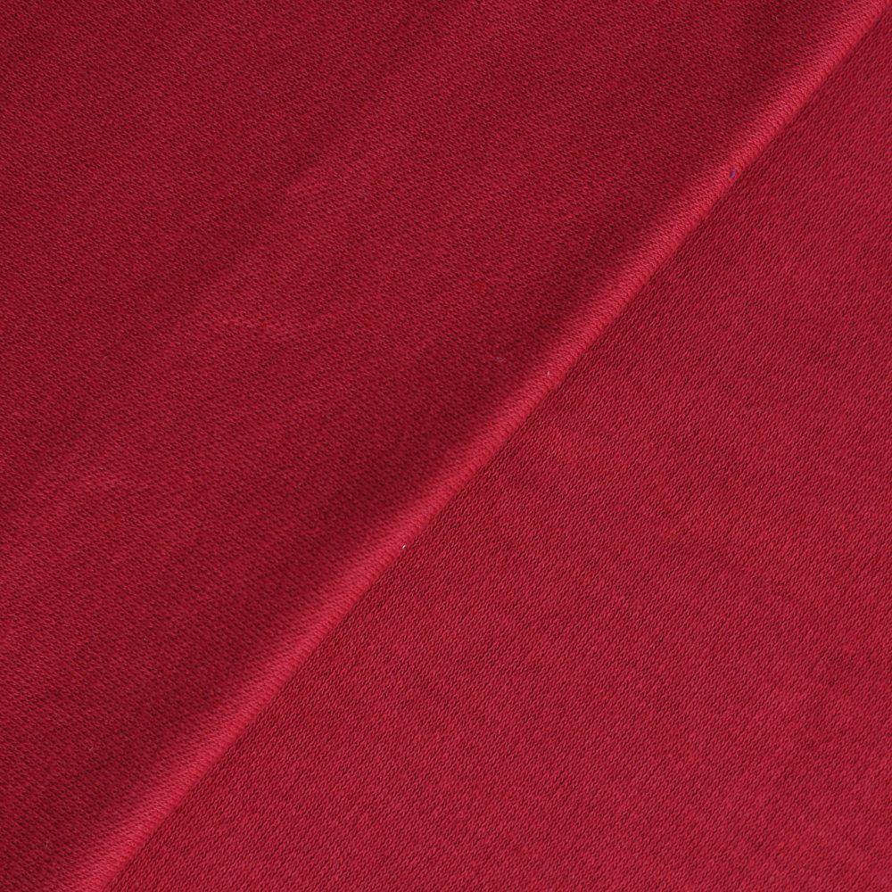 Лоскут трикотажной ткани -  Тёртая малина 50х30