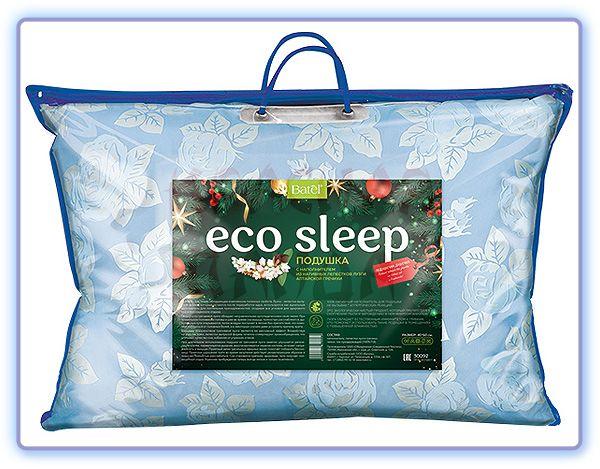 Подушка ECO Sleep с наполнителем из нативных лепестков лузги алтайской гречихи Batel
