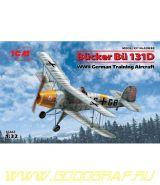 B?cker B? 131D, Германский учебный самолет ІІ МВ
