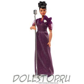 Коллекционная кукла Барби Элла Фицджеральд - Ella Fitzgerald Barbie  Inspiring Women Doll GHT86