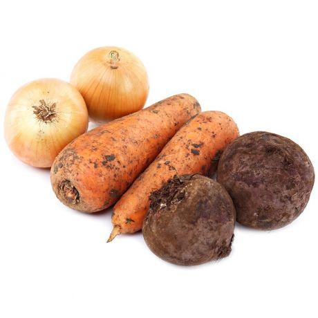 Набор морковь, лук, свекла