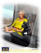 Фигуры, Пассажирка Трака Джони (Lookout) Джонсон & и ее пес Макс