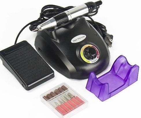 Аппарат для маникюра и педикюра ZS 603 до 35000тыс. оборотов 45W (педаль)  ЧЕРНЫЙ