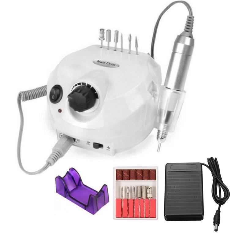 Аппарат для маникюра и педикюра ZS 601 до 35000тыс. оборотов 45W (педаль)
