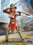 Фигуры, Димахер (мастер фехтования двумя клинками) - Хелен Парсонс. На границе Вселенной