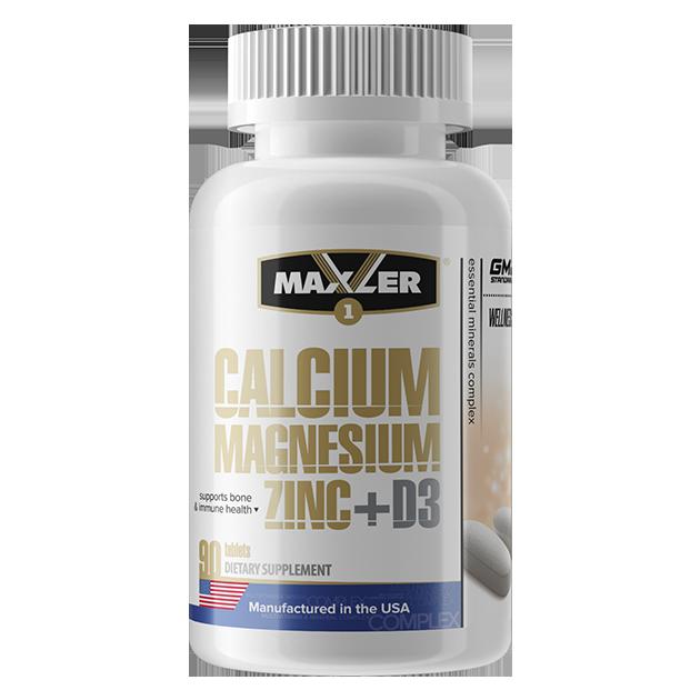 Maxler Calcium Magnesium Zinc + D3