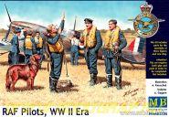 Фигуры Пилоты RAF, 2МВ