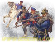 Фигуры, Прусская линейная пехота