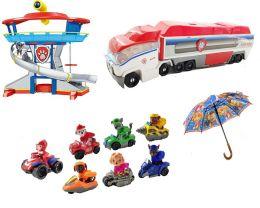 База Офис/Спасателей, Патрулевоз/Автовоз, 7 спасателей (Зонтик в подарок) Щенячий патруль