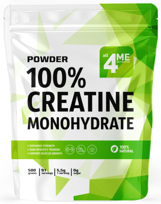 4Me Nutrition 100% Creatine Monohydrate (91 порция)
