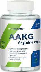 CYBERMASS AAKG ARGININE CAPS 120