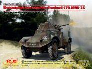 Командирская машина Panhard 178 AMD-35, Французский бронеавтомобиль ІІ МВ