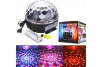 Светодиодный диско-шар LED Magic Ball Light c Bluetooth (с MP3-плеером и ПДУ)