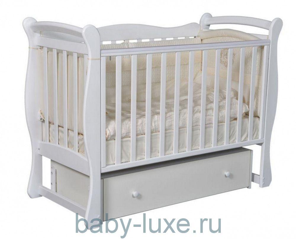 Кроватка детская Julia-1 универсальный маятник/ящик