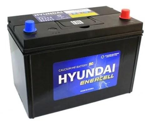 Автомобильный аккумулятор АКБ HYUNDAI (Хёндэ) CMF125D31L 105Ач о.п.