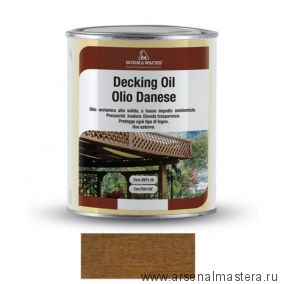 Масло датское Borma Decking Oil 1 л для террас Дуб 4971-IL-512