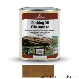 Масло датское Borma Decking Oil 1 л для террас Дуб 4971-IL-512