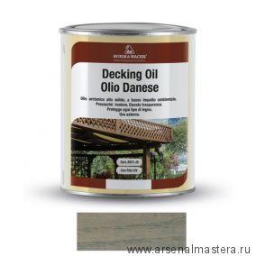 Масло датское Borma Decking Oil 1 л для террас Серый 4971-IL-1012