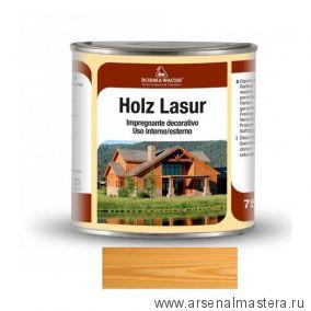 Декоративная ВОСКОВАЯ лазурь Holzwachs Lasur 750 мл 3320 Borma цвет 05 сосна R3320-9