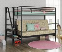 Кровать двухъярусная с диваном Мадлен 3