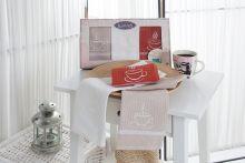 """Комплект  вафельных полотенец """"KARNA"""" TINA 40x60 - 3 шт.  Арт.3030"""