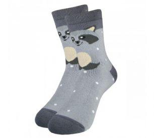 """Детские махровые носки 5061 """"Енот"""""""