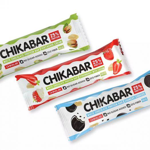 BOMBBAR - CHIKA Bar в белой глазури