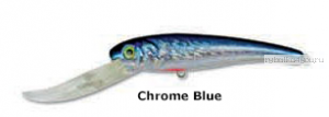 Воблер Manns Stretch Go2 Max 30+плавающий 9 м+ /21 гр /  11 см / цвет:  SGT5-77 CHROME/BLUE