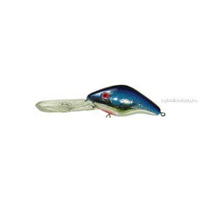 Воблер Manns Depth Plus 30+плавающий  9 м+ /21 гр /  8,5 см / цвет:   DRB677 CHR/BLUE BACK