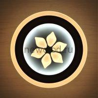 Светильник светодиодный настенно-потолочный GEOMETRIA 560 28Вт 6/3/4000K 200мм белый Oreol