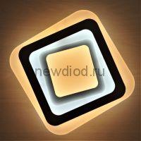 Светильник светодиодный настенно-потолочный GEOMETRIA 532 47Вт 6/3/4000K 300*300 мм белый Oreol