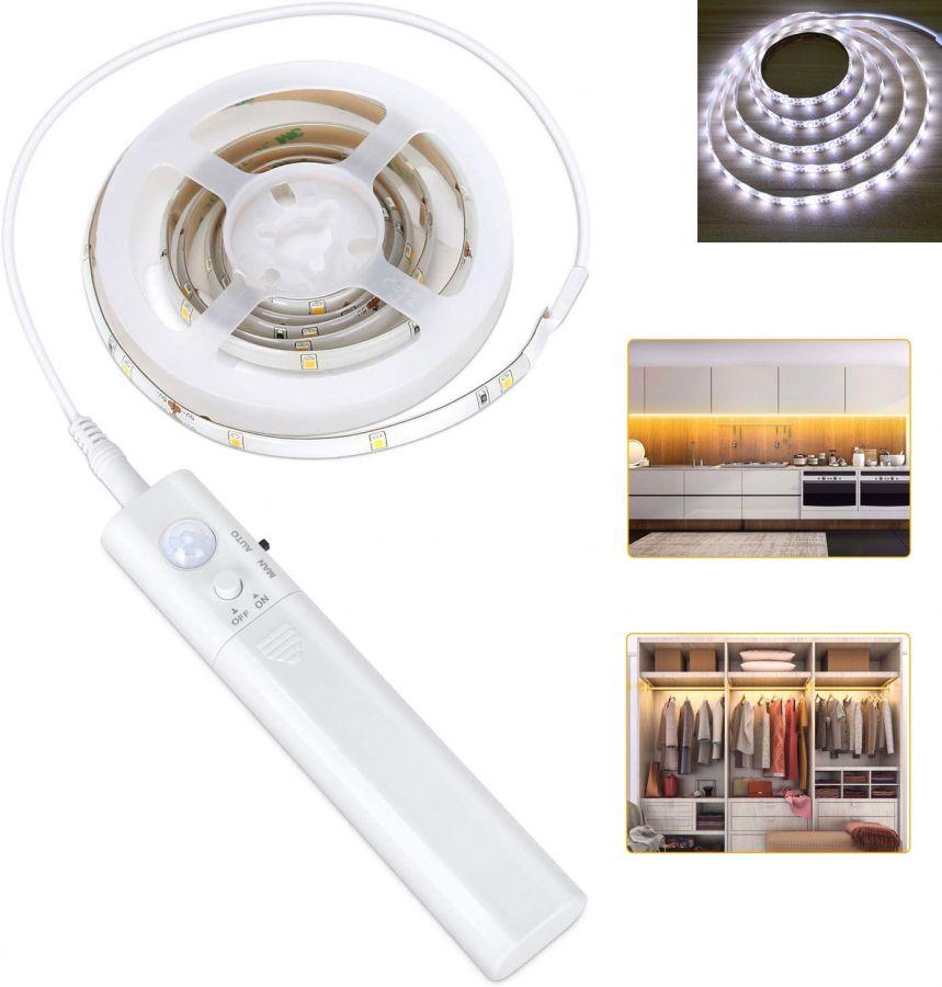 Огонек OG-LDL05 Белая светодиодная лента 3м