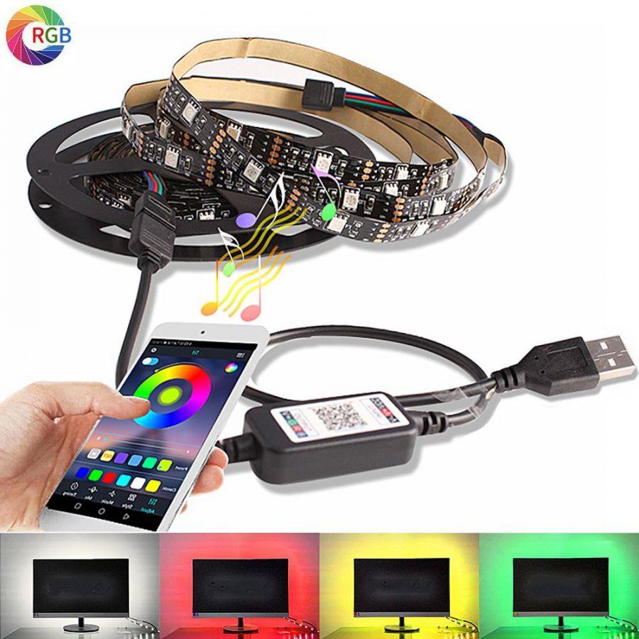 Огонек OG-LDL06 RGB светодиодная лента Bluetooth 1м