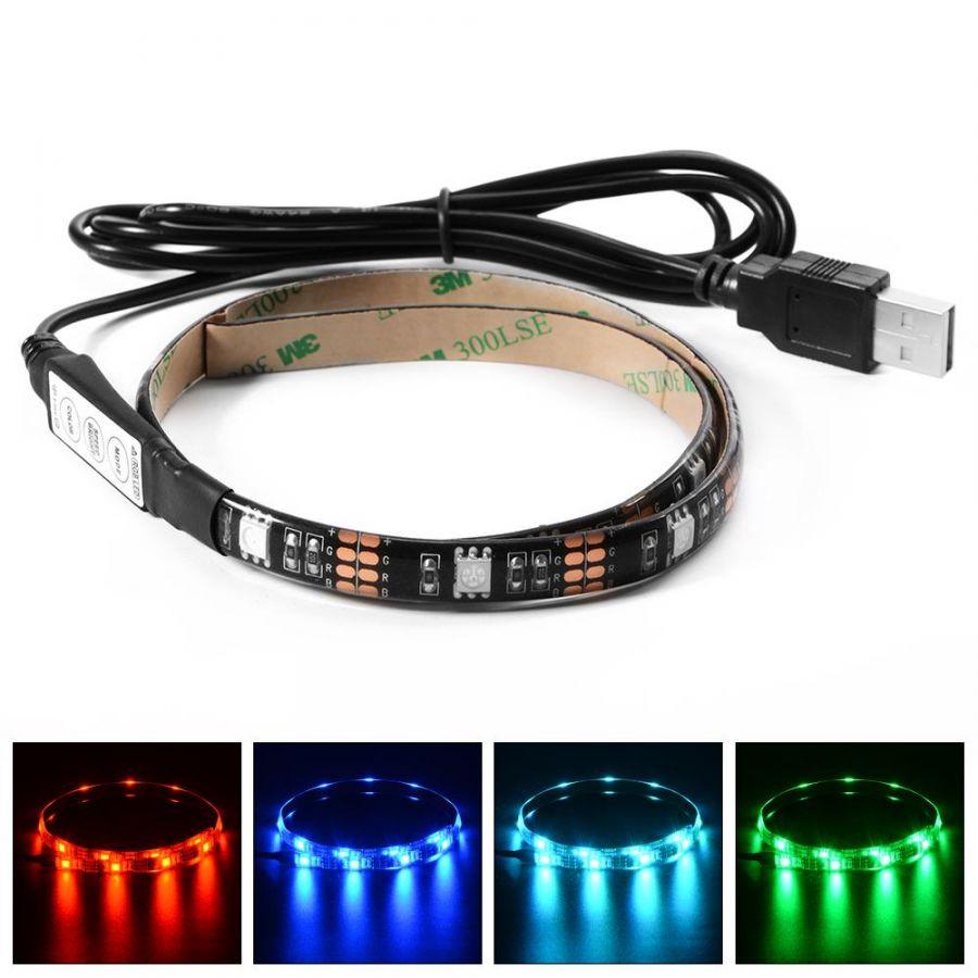 Огонек OG-LDL09 RGB светодиодная лента 1м